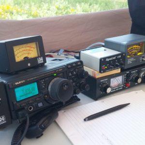 Steve VA3TPS' set up for his digital station