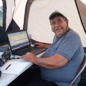 Steve VA3TPS runs a digital station