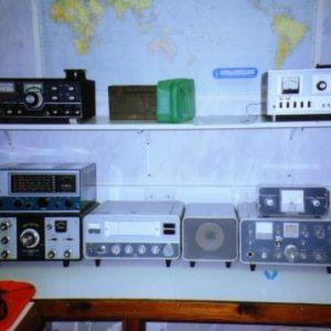 Radio room at Bletchley Park