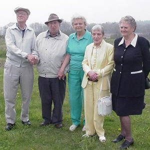 WWII spy and employees of Camp X