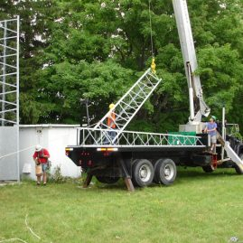 Repeater Tower Move 2007