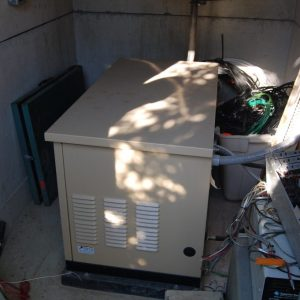 A peak into the repeater backup power system at our repeater site during the Summer Kickoff BBQ 2015.