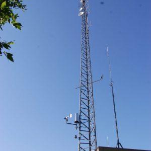 Obligatory repeater tower shot at the Summer Kickoff BBQ 2015.