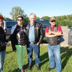 Colleen, Louis, and Jeffrey VA3RTV