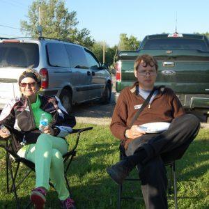 Louis and Lee at the Summer Kickoff BBQ 2015