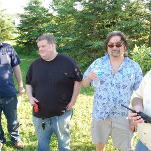 The gang's back at the 2015 Summer Kickoff BBQ.