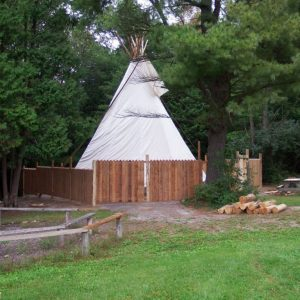 Did you see the tepee?