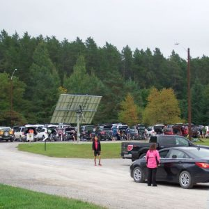 Lots of cyclists came out for the event this year