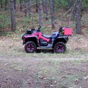Another ATV all alone?! Where does everyone go?