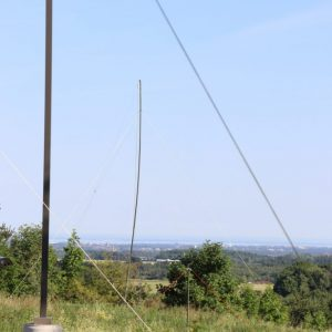 Mike VA3HEM's antenna for Field Day