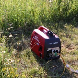 Steve VA3TPS' generator was working hard