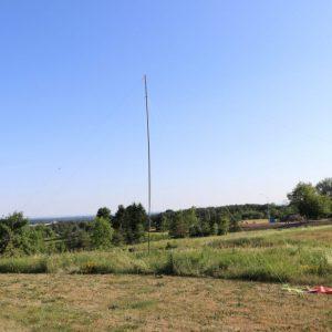 Steve VA3TPS's antenna for Field Day