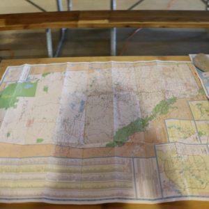 Grid squares for Alberta