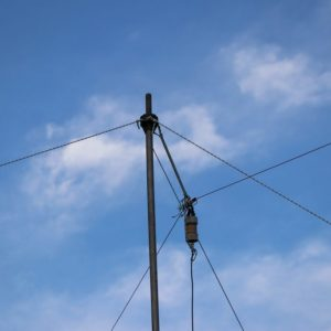 Time to get those amateurs on the air! Our GOTA station's antenna for Field Day