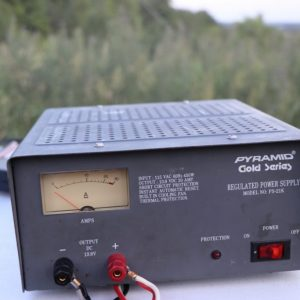 The power supply for our GOTA station during Field Day