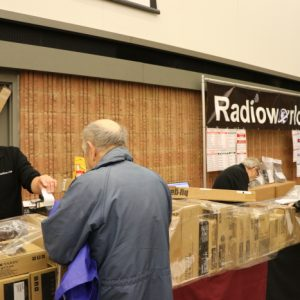 Radioworld is busy making deals and sales during Durham Hamfest