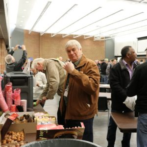 Bob VE3HIX couldn't help but steal a timbit or two!