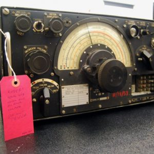 Do you recognize this? This is the same model of Lancaster Bomber radio that Jeffrey VA3RTV restored and showed off in February 2017
