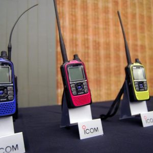 Icom Canada's new ID-51 PLUS come in all sorts of colours. Did you pick one up during Durham Hamfest?