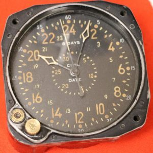 This is an altimeter from a Lancaster bomber.