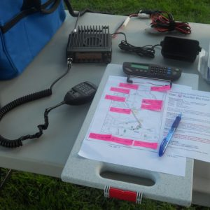 Net Control at the Run for the Cure 2012