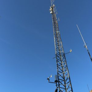 Our tower sure is tall at our Repeater Site
