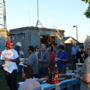 Our BBQs bring together people of all ages. No one can pass up free food and good conversation!