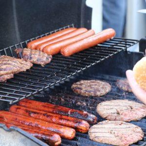 Want a hot dog or a burger?