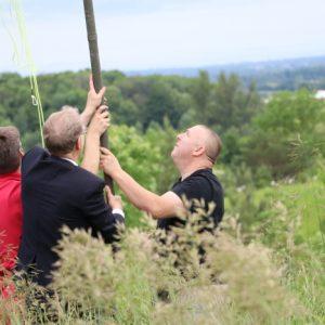 Clint VA3KDK, Bob VE3IRB and Michel VA3HEM work together