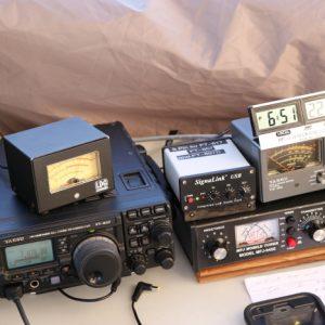 Just some of Steve VA3TPS's digital set up for the weekend
