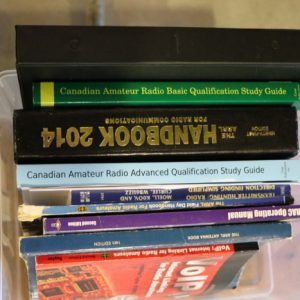 Just some of the books we had out for the public during the weekend. Why not take a read?